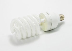 CFL light bulb