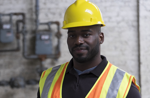 worker in hard hat